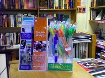 'Bible-less Bible Bookmarks' courtesy of Wycliffe Bible Translators