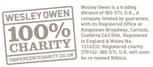Excerpt from the Wesley Owen Volunteer Leaflet (PDF, 104kb)