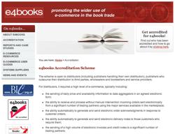 e4books > Accreditation