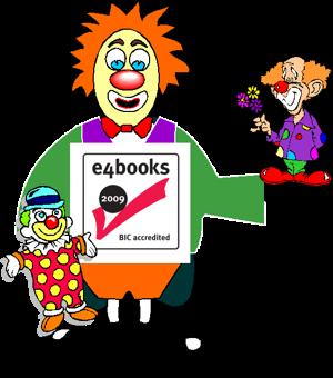 Making a mockery of e4books accreditation