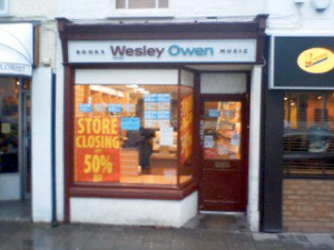 Wesley Owen, Bedford, 15 Jan 2010