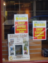 Former Wesley Owen, Bedford: Shop Saved by Living Oasis