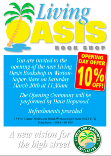Living Oasis Weston: Opening Day Poster Preview