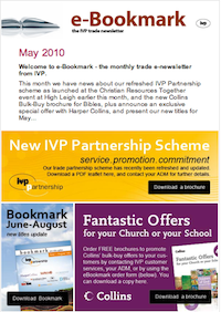 IVP e-Bookmark May 2010