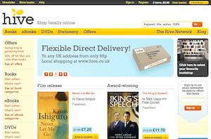 Hive: Shop locally online - beta site screenshot
