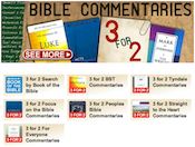 Eden.co.uk: 3 for 2 Bible Commentaries Offer
