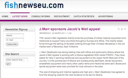 Fish News: J Marr sponsors Jacob's Well