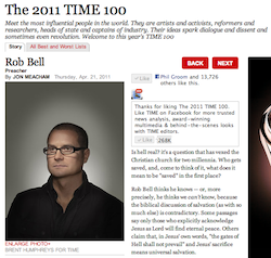 The 2011 TIME 100: Rob Bell