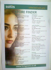 Living Oasis Store Finder from CRE 2011