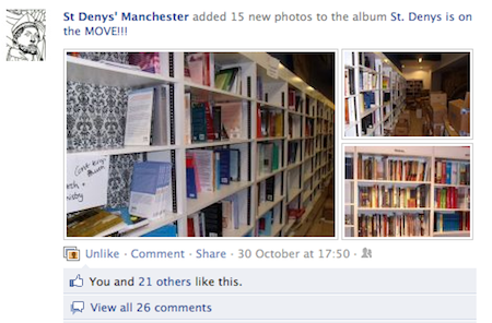 St Denys' Manchester: facebook photos