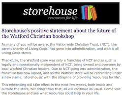 Storehouse Watford