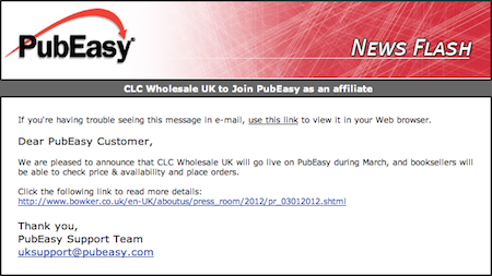 PubEasy Newsflash: CLC Wholesale UK to Join PubEasy as an affiliate