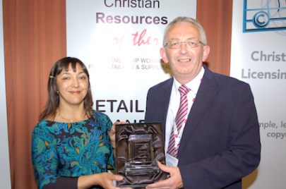 Eddie Olliffe receives the Long Service Award, Supplier