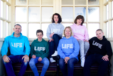Life Hoodies - Living In Faith Every Day
