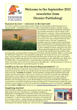 Dernier Publishing News: September 2012 (pdf, 516kb)