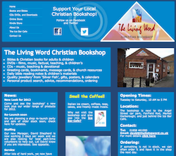 New website for Living Word Christian Bookshop