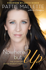 Book News: Nowhere but Up – Justin Bieber's mother tells herstory