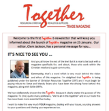 Together e-News #1: out now!