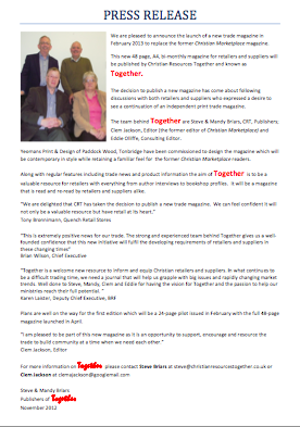 Together: Press Release, November 2012