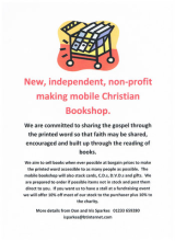 Good News for Derbyshire as mobile Christian bookshop fills the Buxton gap