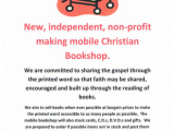 Good News for Derbyshire as mobile Christian bookshop fills the Buxtongap