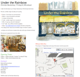 Under the Rainbow Christian Bookshop, Minehead, For Sale