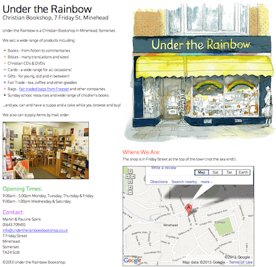 Under the Rainbow Christian Bookshop