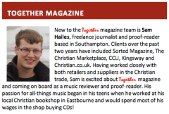 CRT E-News - Together Magazine: Introducing Sam Hailes