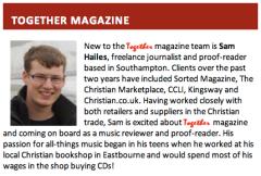 CRT E-News - Together Magazine: Introducing Sam Hailes