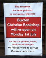 Today's the Day: Buxton Christian Bookshop reopens as Chapter and Verse