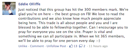 Call to prayer as CABP facebook group reaches 300 members