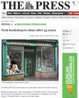 Farewell to Wesley Owen's Barbican Bookshop,York