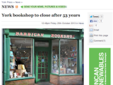 Farewell to Wesley Owen's Barbican Bookshop, York