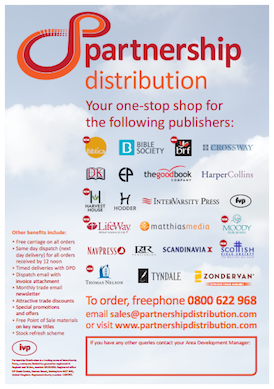IVP/Partnership Distribution - Publishers Supplied, April 2014 (pdf, 299kb)