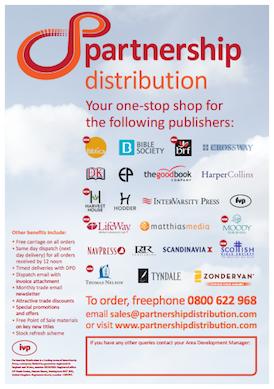 IVP/Partnership Distribution - Publishers Supplied, April 2014 (pdf, 299kb)