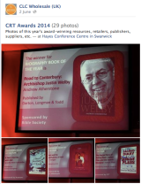 And the winners are… #CRT14: Congratulations to all this year's award winners!