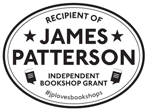 James Patterson Independent Bookshops Grant #jplovesbookshops
