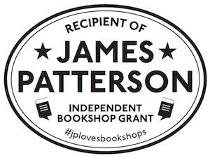 James Patterson Independent Bookshops Grant #jplovesbookshops