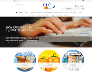 CLC Wholesale's new B2B website