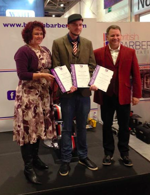 DJ Irvine: First British Barber to gain three Trade Test Standard Certificates