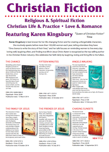 Kuperard Christian Fiction List featuring Karen Kingsbury